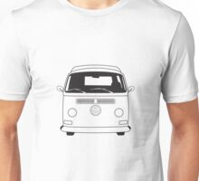 Early Bay VW Camper Line Art Unisex T-Shirt
