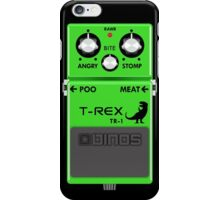 T-Rex Distortion Pedal iPhone Case/Skin