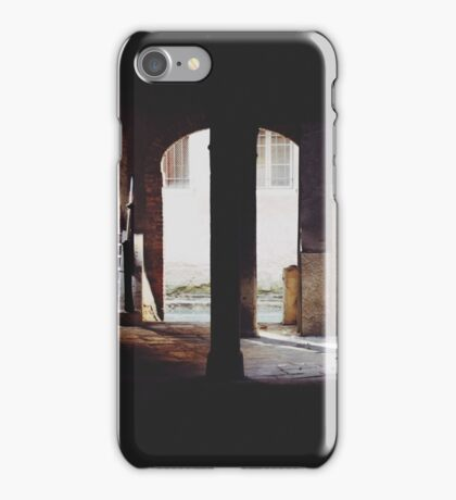 A Quiet Corner of Venice iPhone Case/Skin