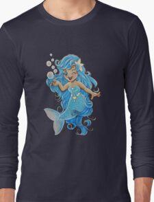 Mermaid Wink Long Sleeve T-Shirt
