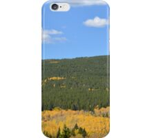 Aspens and Evergreens iPhone Case/Skin
