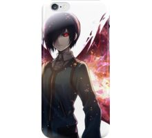 touka in her aggression  iPhone Case/Skin
