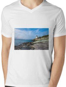 Castle Hill Lighthouse Mens V-Neck T-Shirt