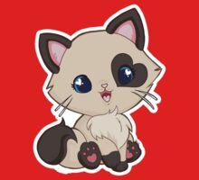 Mochi Kitten Smile Kids Tee