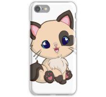 Mochi Kitten Smile iPhone Case/Skin
