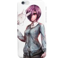 bunny mask iPhone Case/Skin