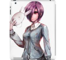 bunny mask iPad Case/Skin