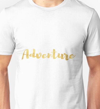 Adventure in Gold Unisex T-Shirt