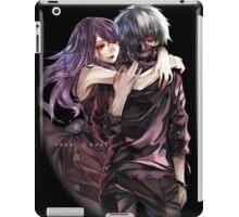 kaneki masked with rize  iPad Case/Skin