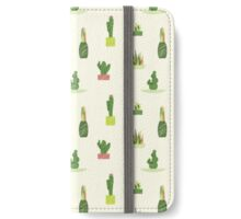 Succulent Pattern iPhone Wallet/Case/Skin