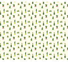 Succulent Pattern Photographic Print