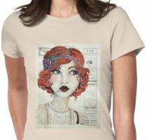 Eyes of Blue Womens Fitted T-Shirt