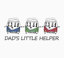 Dad's Little Helper VW Camper One Piece - Short Sleeve