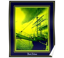 Lord Nelson - Constitution Dock - Hobart Poster