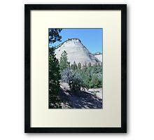 Zion Elephant Rock Framed Print