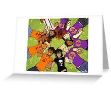 Olympus Heroes Greeting Card