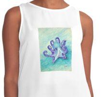 Penelope, Purple Octopus; Whimsical, Ocean, Beach, Underwater Contrast Tank