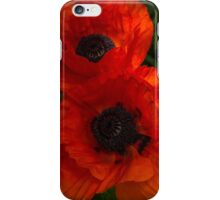 Hot Red Poppy Duo iPhone Case/Skin
