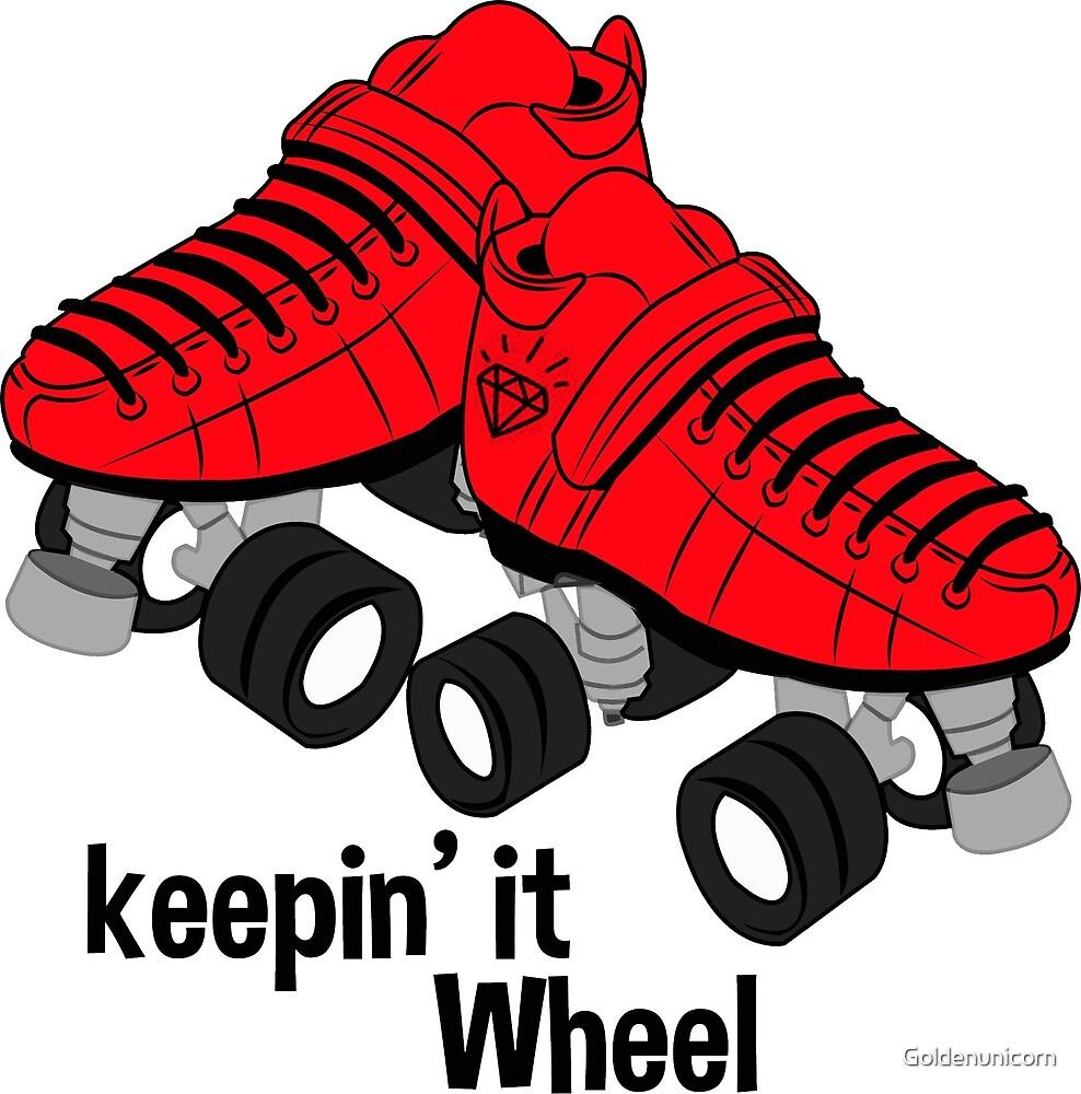 Keepin It Wheel by Goldenunicorn