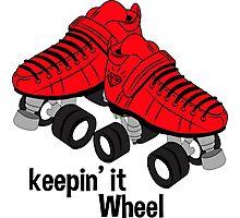 Keepin It Wheel Photographic Print