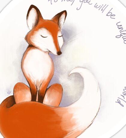 The Little Fox Sticker