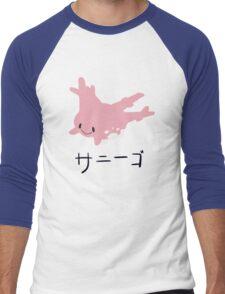 #222 Men's Baseball ¾ T-Shirt