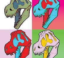 Tarbosaurus bataar by cubelight