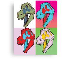 Tarbosaurus bataar Canvas Print