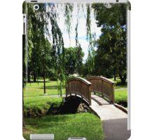 Weeping Willow Bridge iPad Case/Skin