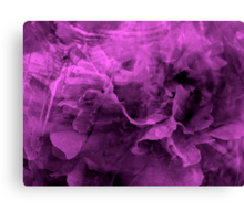 Purple Emotions - JUSTART © Canvas Print