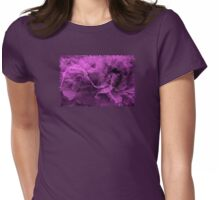 Purple Emotions - JUSTART © Womens Fitted T-Shirt