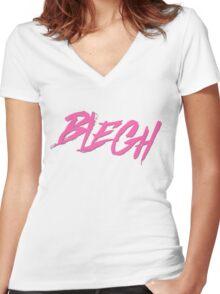 Blegh Women's Fitted V-Neck T-Shirt