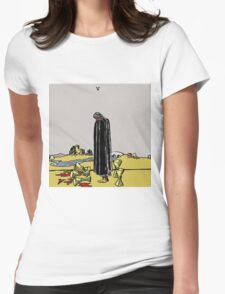 Wavves V Cover Art Womens Fitted T-Shirt
