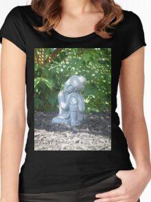Baby Buddha Women's Fitted Scoop T-Shirt