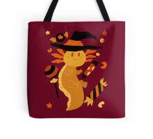 Halloween Candy Axolotl Tote Bag