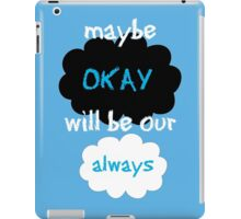 "Maybe ""okay"" will be our ""always"" iPad Case/Skin"
