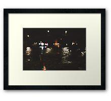 River Taxi Framed Print
