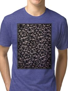 """BLACK and WHITE"" Art Deco Print Tri-blend T-Shirt"