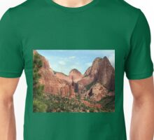 Kolob Canyons, Zion National Park, Utah, USA Unisex T-Shirt