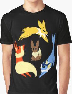 Original Eeveelutions Graphic T-Shirt