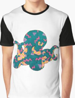 Party Octopus Graphic T-Shirt