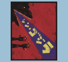 Shin Godzilla Abstract Toy version Kids Tee