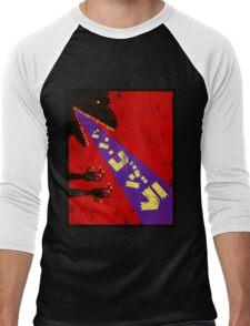 Shin Godzilla Abstract Toy version Men's Baseball ¾ T-Shirt