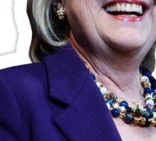 Hillary Smile Sticker