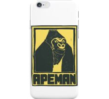 Apeman iPhone Case/Skin