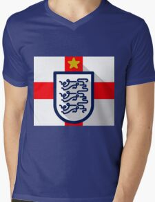 England Mens V-Neck T-Shirt