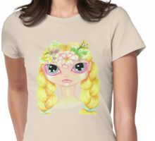 Pretty Spring Girl Womens Fitted T-Shirt