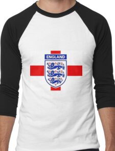 England 578 Men's Baseball ¾ T-Shirt