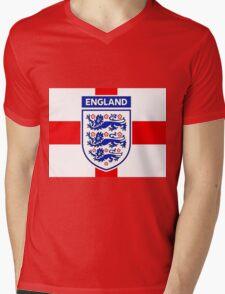 England 578 Mens V-Neck T-Shirt