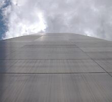 North side of Gateway Arch by Timothy  Ruf